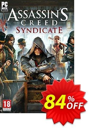 Assassin's Creed Syndicate PC discount coupon Assassin's Creed Syndicate PC Deal - Assassin's Creed Syndicate PC Exclusive offer for iVoicesoft