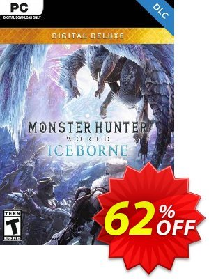 Monster Hunter World: Iceborne Deluxe Edition PC + DLC Coupon, discount Monster Hunter World: Iceborne Deluxe Edition PC + DLC Deal. Promotion: Monster Hunter World: Iceborne Deluxe Edition PC + DLC Exclusive offer for iVoicesoft