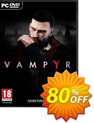 Vampyr PC Coupon, discount Vampyr PC Deal. Promotion: Vampyr PC Exclusive offer for iVoicesoft