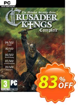 Crusader Kings: Complete PC discount coupon Crusader Kings: Complete PC Deal - Crusader Kings: Complete PC Exclusive offer for iVoicesoft