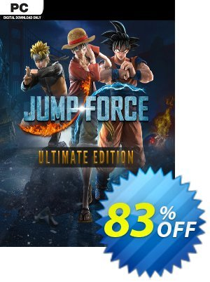 Jump Force Ultimate Edition PC discount coupon Jump Force Ultimate Edition PC Deal - Jump Force Ultimate Edition PC Exclusive offer for iVoicesoft