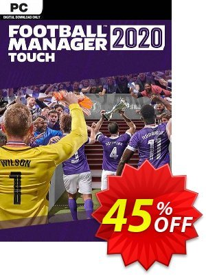 Football Manager 2020 Touch PC (WW) Coupon discount Football Manager 2020 Touch PC (WW) Deal - Football Manager 2020 Touch PC (WW) Exclusive offer for iVoicesoft