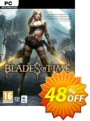 Blades of Time PC 프로모션 코드 Blades of Time PC Deal 프로모션: Blades of Time PC Exclusive offer for iVoicesoft