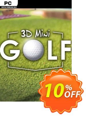 3D MiniGolf PC Coupon, discount 3D MiniGolf PC Deal. Promotion: 3D MiniGolf PC Exclusive offer for iVoicesoft