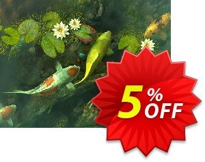 3PlaneSoft Koi Pond - Garden 3D Screensaver discount coupon 3PlaneSoft Koi Pond - Garden 3D Screensaver Coupon - 3PlaneSoft Koi Pond - Garden 3D Screensaver offer discount