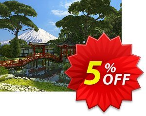 3PlaneSoft Japanese Garden 3D Screensaver discount coupon 3PlaneSoft Japanese Garden 3D Screensaver Coupon - 3PlaneSoft Japanese Garden 3D Screensaver offer discount