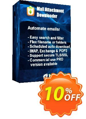 Mail Attachment Downloader PRO Server One Year Extension 프로모션 코드 Mail Attachment Downloader PRO Server One Year Extension Stunning discount code 2020 프로모션: Stunning discount code of Mail Attachment Downloader PRO Server One Year Extension 2020