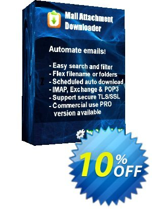 Mail Attachment Downloader PRO Upgrade (Single License) discount coupon Mail Attachment Downloader PRO Upgrade (Single License) Hottest sales code 2020 - Hottest sales code of Mail Attachment Downloader PRO Upgrade (Single License) 2020