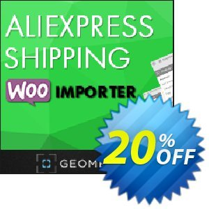 Aliexpress Shipping WooImporter (Add-on) Coupon, discount Aliexpress Shipping WooImporter. Add-on for WooImporter. Hottest offer code 2020. Promotion: Hottest offer code of Aliexpress Shipping WooImporter. Add-on for WooImporter. 2020