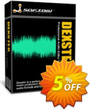 Dexster Audio Editor Coupon, discount Dexster Amazing sales code 2020. Promotion: Amazing sales code of Dexster 2020