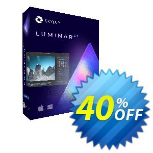 Luminar AI One-time purchase 프로모션 코드 40% OFF Luminar AI One-time purchase, verified 프로모션: Imposing discount code of Luminar AI One-time purchase, tested & approved