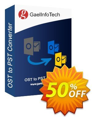 Gael Converter for OST 優惠券,折扣碼 Coupon code Gael Converter for OST - Standard License,促銷代碼: Gael Converter for OST - Standard License offer from BitRecover