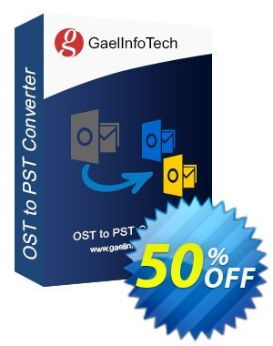 Get Gael Converter for OST - Pro License 50% OFF coupon code