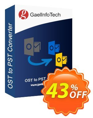 Gael Converter for PST 優惠券,折扣碼 Coupon code Gael Converter for PST - Home User License,促銷代碼: Gael Converter for PST - Home User License offer from BitRecover