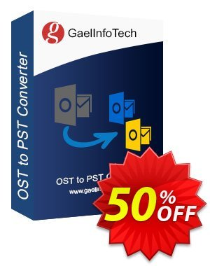Get Gael Converter for PST - Pro License 50% OFF coupon code