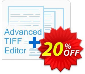 Advanced TIFF Editor 優惠券,折扣碼 Advanced TIFF Editor Exclusive discounts code 2020,促銷代碼: Exclusive discounts code of Advanced TIFF Editor 2020
