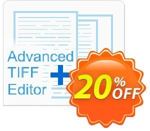 Advanced TIFF Editor Plus (virtual) Coupon, discount Advanced TIFF Editor Plus (virtual) Dreaded deals code 2020. Promotion: Dreaded deals code of Advanced TIFF Editor Plus (virtual) 2020