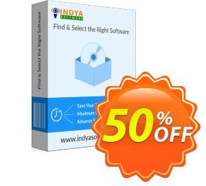 Indya Outlook Converter Toolkit Coupon, discount Coupon code Indya Outlook Converter Toolkit - Personal License. Promotion: Indya Outlook Converter Toolkit - Personal License offer from BitRecover
