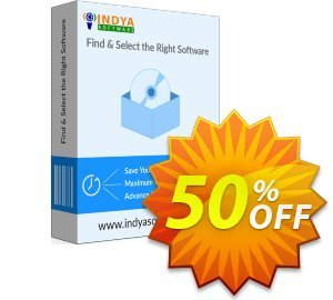 Indya Outlook to PDF - Corporate License Coupon, discount Coupon code Indya Outlook to PDF - Corporate License. Promotion: Indya Outlook to PDF - Corporate License offer from BitRecover
