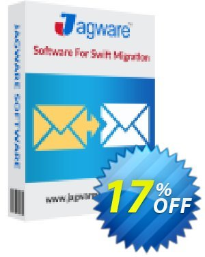 Jagware MBOX to PST Wizard - Business License 優惠券,折扣碼 Coupon code Jagware MBOX to PST Wizard - Business License,促銷代碼: Jagware MBOX to PST Wizard - Business License offer from Jagware Software