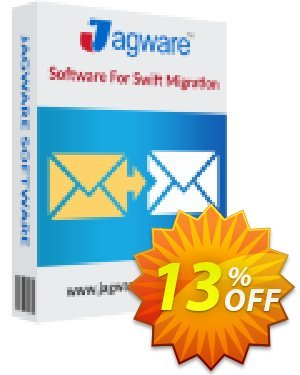 Jagware MBOX to NSF Wizard - Business License 優惠券,折扣碼 Coupon code Jagware MBOX to NSF Wizard - Business License,促銷代碼: Jagware MBOX to NSF Wizard - Business License offer from Jagware Software