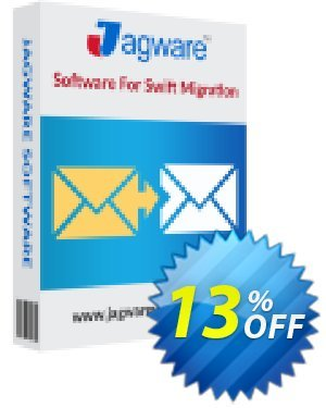 Jagware EML to NSF Wizard - Business License Coupon, discount Coupon code Jagware EML to NSF Wizard - Business License. Promotion: Jagware EML to NSF Wizard - Business License offer from Jagware Software
