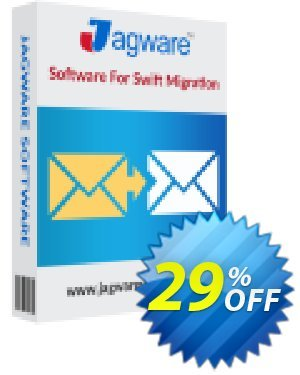Jagware NSF to EML Wizard 프로모션 코드 Coupon code Jagware NSF to EML Wizard - Home User License 프로모션: Jagware NSF to EML Wizard - Home User License offer from Jagware Software