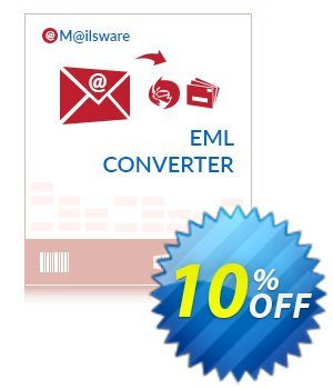 Mailsware EML Converter Coupon, discount Coupon code Mailsware EML Converter - Standard License. Promotion: Mailsware EML Converter - Standard License offer from ZOOK Software