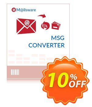 Get Mailsware MSG to OLM - Standard License 10% OFF coupon code