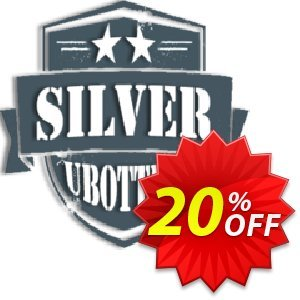 UBotter Silver Licensing Coupon, discount UBotter Silver Licensing Awful promo code 2020. Promotion: Awful promo code of UBotter Silver Licensing 2020