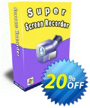 Zeallsoft Super Screen Recorder割引コード・Super Screen Recorder Staggering promotions code 2020 キャンペーン:Staggering promotions code of Super Screen Recorder 2020