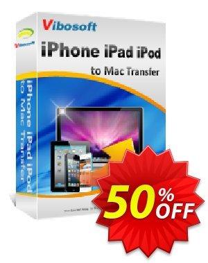 Vibosoft iPad iPhone iPod to Mac Transfer Coupon, discount Coupon code Vibosoft iPad iPhone iPod to Mac Transfer. Promotion: Vibosoft iPad iPhone iPod to Mac Transfer offer from Vibosoft Studio