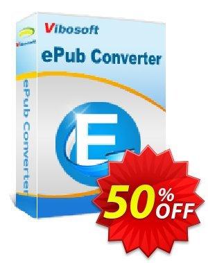 Vibosoft ePub Converter Coupon, discount Coupon code Vibosoft ePub Converter. Promotion: Vibosoft ePub Converter offer from Vibosoft Studio