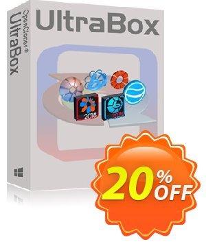 OpenCloner UltraBox Coupon, discount 20% OFF OpenCloner UltraBox, verified. Promotion: Awesome discount code of OpenCloner UltraBox, tested & approved
