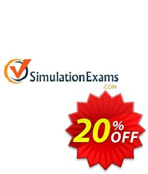 SimulationExams CCENT Exam Simulator Coupon, discount SE: CCENT Exam Simulator Staggering sales code 2020. Promotion: Staggering sales code of SE: CCENT Exam Simulator 2020