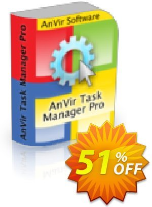 AnVir Task Manager Pro Coupon, discount AnVir Task Manager Pro (1 year of updates inluded) Imposing sales code 2021. Promotion: Imposing sales code of AnVir Task Manager Pro (1 year of updates inluded) 2021