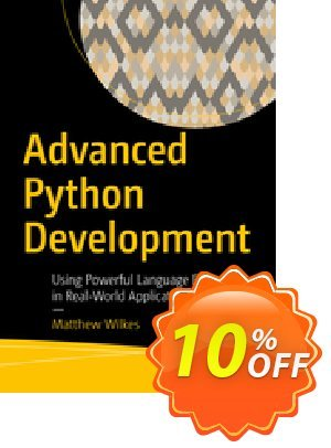 Advanced Python Development (Wilkes) Coupon, discount Advanced Python Development (Wilkes) Deal. Promotion: Advanced Python Development (Wilkes) Exclusive Easter Sale offer for iVoicesoft