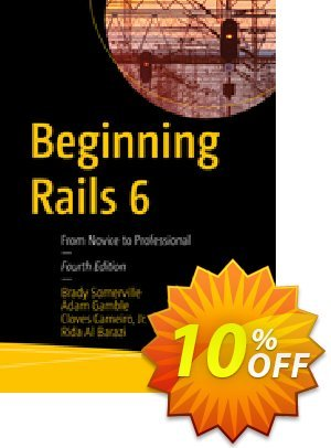 Beginning Rails 6 (Somerville) Gutschein rabatt Beginning Rails 6 (Somerville) Deal Aktion: Beginning Rails 6 (Somerville) Exclusive Easter Sale offer for iVoicesoft