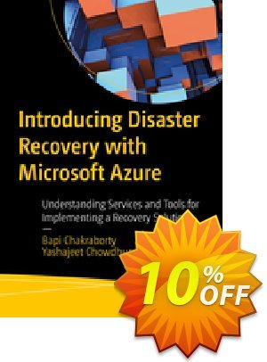 Introducing Disaster Recovery with Microsoft Azure (Chakraborty) 프로모션 코드 Introducing Disaster Recovery with Microsoft Azure (Chakraborty) Deal 프로모션: Introducing Disaster Recovery with Microsoft Azure (Chakraborty) Exclusive Easter Sale offer for iVoicesoft