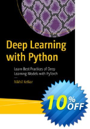 Deep Learning with Python (Ketkar) 프로모션 코드 Deep Learning with Python (Ketkar) Deal 프로모션: Deep Learning with Python (Ketkar) Exclusive Easter Sale offer for iVoicesoft