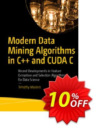 Modern Data Mining Algorithms in C++ and CUDA C (Masters) 優惠券,折扣碼 Modern Data Mining Algorithms in C++ and CUDA C (Masters) Deal,促銷代碼: Modern Data Mining Algorithms in C++ and CUDA C (Masters) Exclusive Easter Sale offer for iVoicesoft