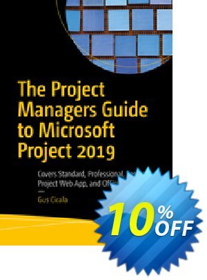 The Project Managers Guide to Microsoft Project 2019 (Cicala) discount coupon The Project Managers Guide to Microsoft Project 2021 (Cicala) Deal - The Project Managers Guide to Microsoft Project 2021 (Cicala) Exclusive Easter Sale offer for iVoicesoft
