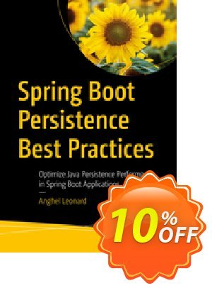 Spring Boot Persistence Best Practices (Anghel) Coupon, discount Spring Boot Persistence Best Practices (Anghel) Deal. Promotion: Spring Boot Persistence Best Practices (Anghel) Exclusive Easter Sale offer for iVoicesoft