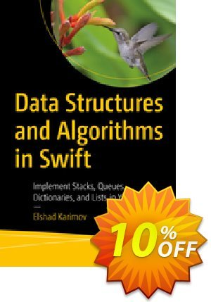 Data Structures and Algorithms in Swift (Karimov) discount coupon Data Structures and Algorithms in Swift (Karimov) Deal - Data Structures and Algorithms in Swift (Karimov) Exclusive Easter Sale offer for iVoicesoft
