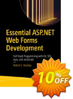 Essential ASP.NET Web Forms Development (Beasley) discount coupon Essential ASP.NET Web Forms Development (Beasley) Deal - Essential ASP.NET Web Forms Development (Beasley) Exclusive Easter Sale offer for iVoicesoft