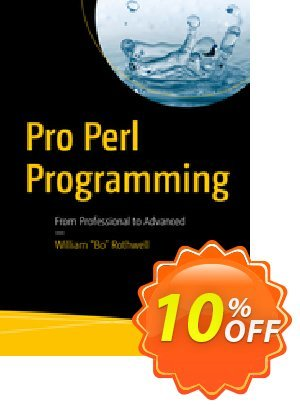 Pro Perl Programming (Rothwell) discount coupon Pro Perl Programming (Rothwell) Deal - Pro Perl Programming (Rothwell) Exclusive Easter Sale offer for iVoicesoft