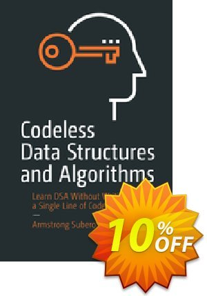 Codeless Data Structures and Algorithms (Subero) 프로모션 코드 Codeless Data Structures and Algorithms (Subero) Deal 프로모션: Codeless Data Structures and Algorithms (Subero) Exclusive Easter Sale offer for iVoicesoft