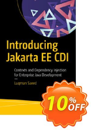 Introducing Jakarta EE CDI (Saeed) 프로모션 코드 Introducing Jakarta EE CDI (Saeed) Deal 프로모션: Introducing Jakarta EE CDI (Saeed) Exclusive Easter Sale offer for iVoicesoft