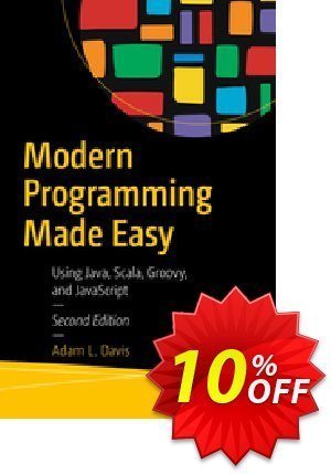Modern Programming Made Easy (Davis) Coupon, discount Modern Programming Made Easy (Davis) Deal. Promotion: Modern Programming Made Easy (Davis) Exclusive Easter Sale offer for iVoicesoft