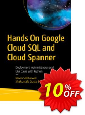 Hands On Google Cloud SQL and Cloud Spanner (Sabharwal) discount coupon Hands On Google Cloud SQL and Cloud Spanner (Sabharwal) Deal - Hands On Google Cloud SQL and Cloud Spanner (Sabharwal) Exclusive Easter Sale offer for iVoicesoft